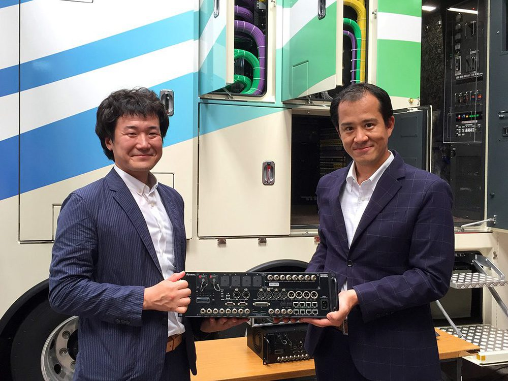 Mr. Otomi, CEO Express Co, Ltd mit Toshiki Kawakita, Riedel Sales Manager Japan
