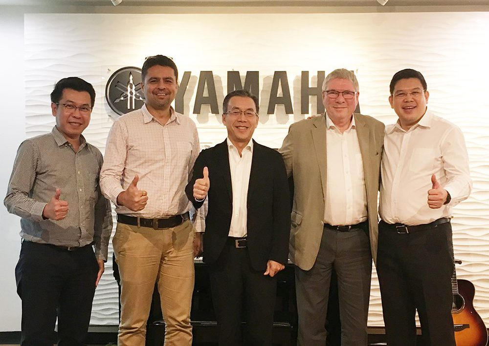 Adam Hall Group und Siam Music Yamaha