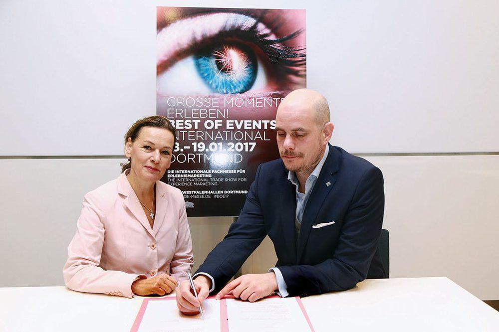 Sabine Loos und Jan Kalbfleisch