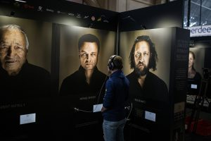 Ausstellung Faces behind the voices