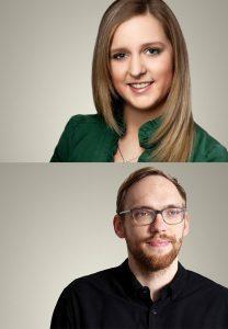 Joana Hönneknövel und Hendrik Zilien