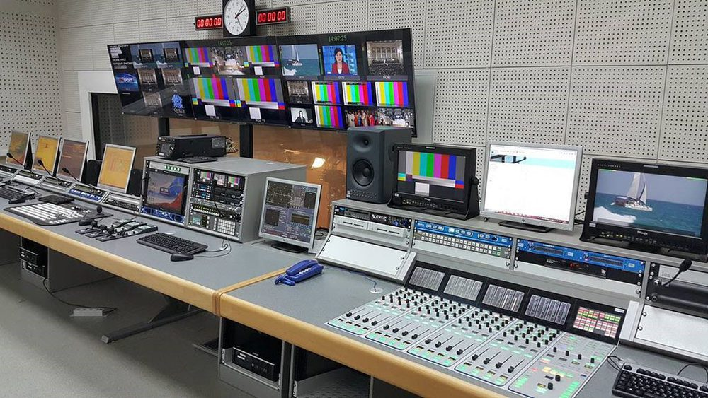 Lawo Sapphire in der Astrakhan TV Station