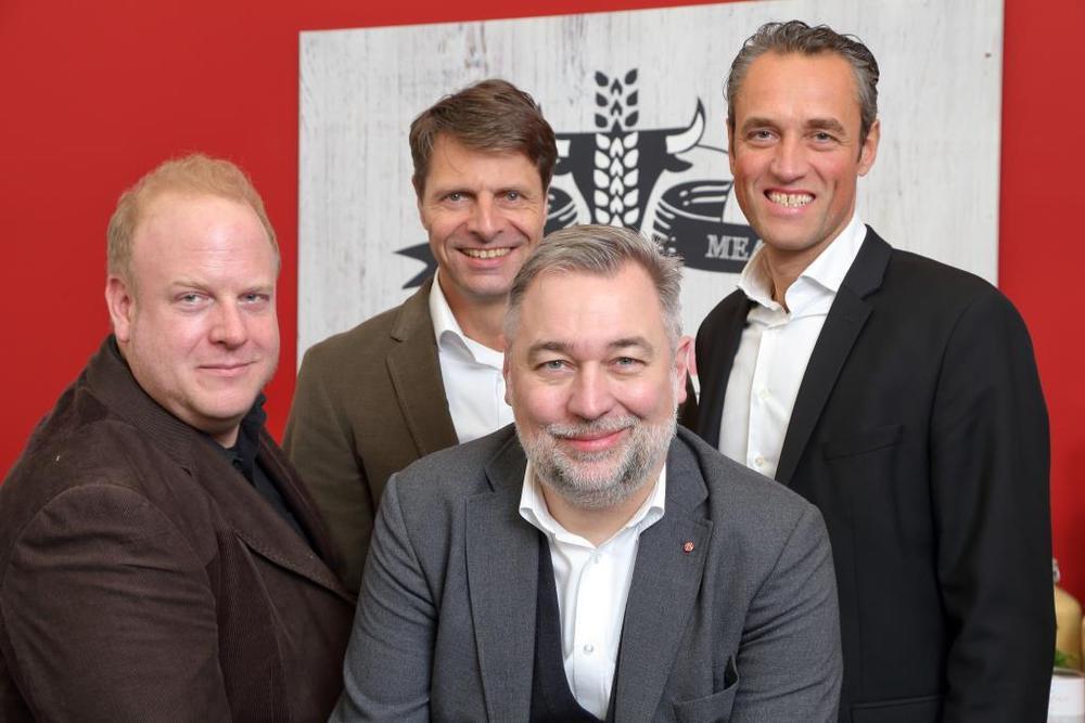 Kay Schlichting, Burkhard Schmitz, Georg W. Broich und Volker Brüggen (v.l.)