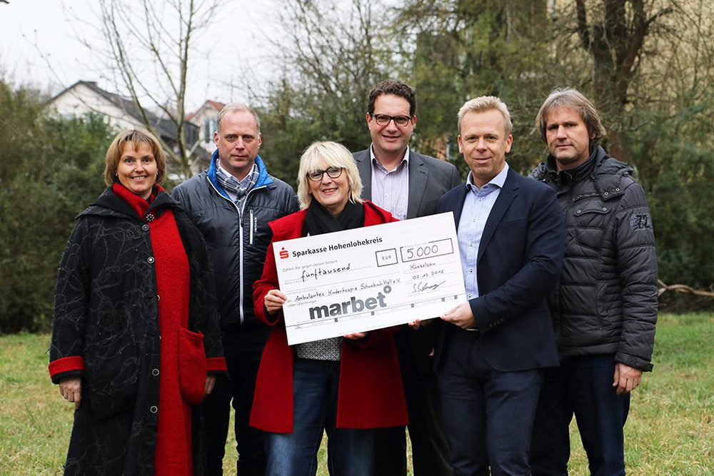 Marbet spendet 5.000€ an Kinderhospiz