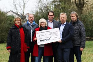 Marbet spendet 5.000€ an Kinderhospiz