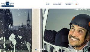 Webseite von Face to Face