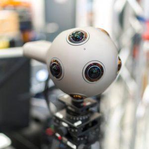 OZO VR Kamera, OZO LIVE im Einsatz