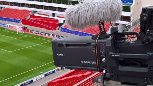 Sony Equipment in der BayArena Leverkusen