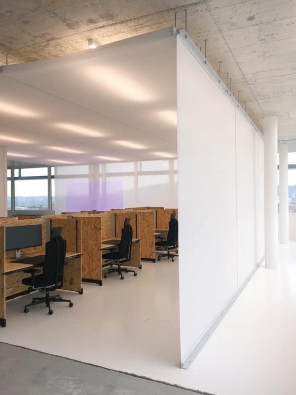 Absorber Light in Weiß bei der Open Systems AG