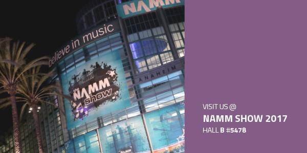 Adam Hall Group auf der Winter NAMM 2017
