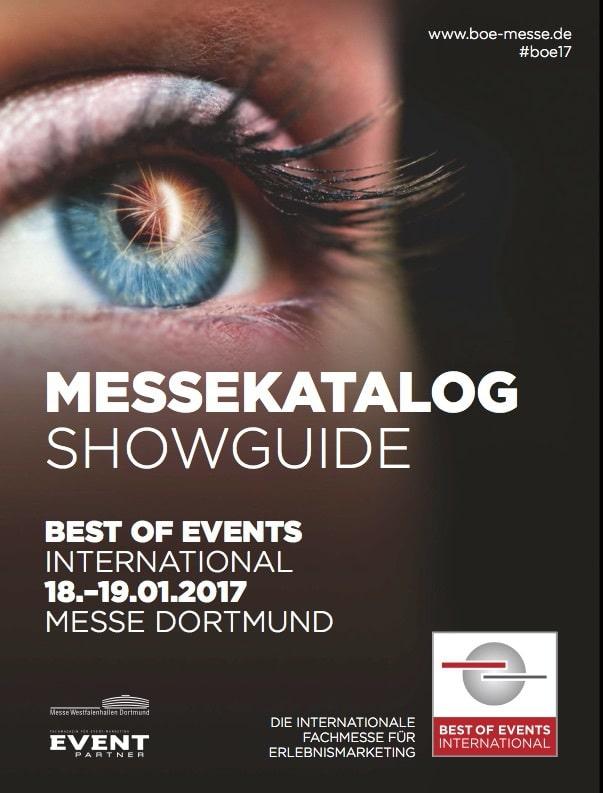 Messekatalog BoE 2017