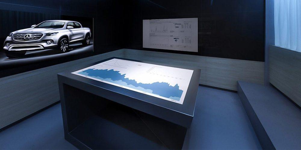 Konfernezraum der Daimler AG in Stuttgart