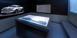 Konferenzraum der Daimler AG in Stuttgart