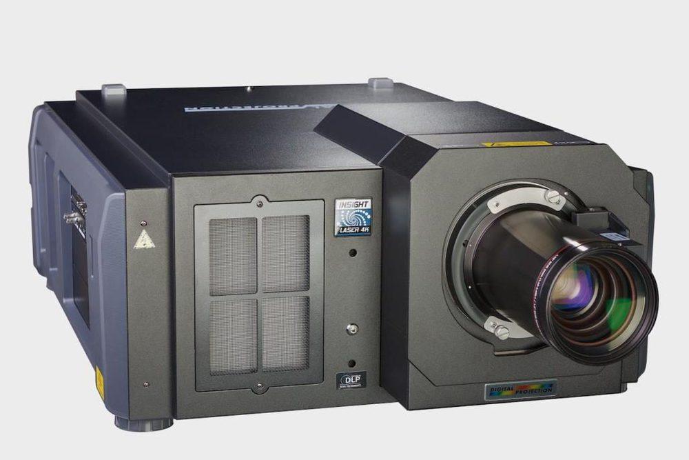 Der Insight Dual Laser-Projektor von Digital Projection.