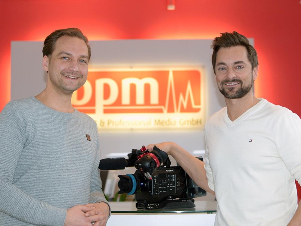 Dirk Bohm (l.) und Jan Wigger