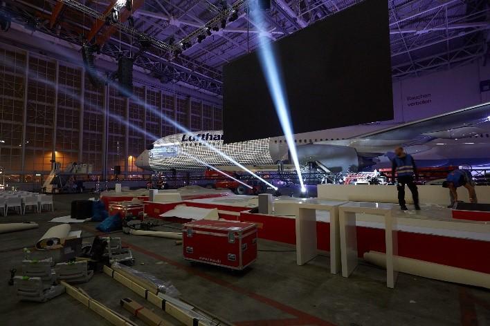 Taufe des neuen A350 von Lufthansa