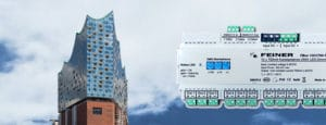Fernsehtaugliche LED-Dimmer von Feiner in der Hamburger Elbphilharmonie