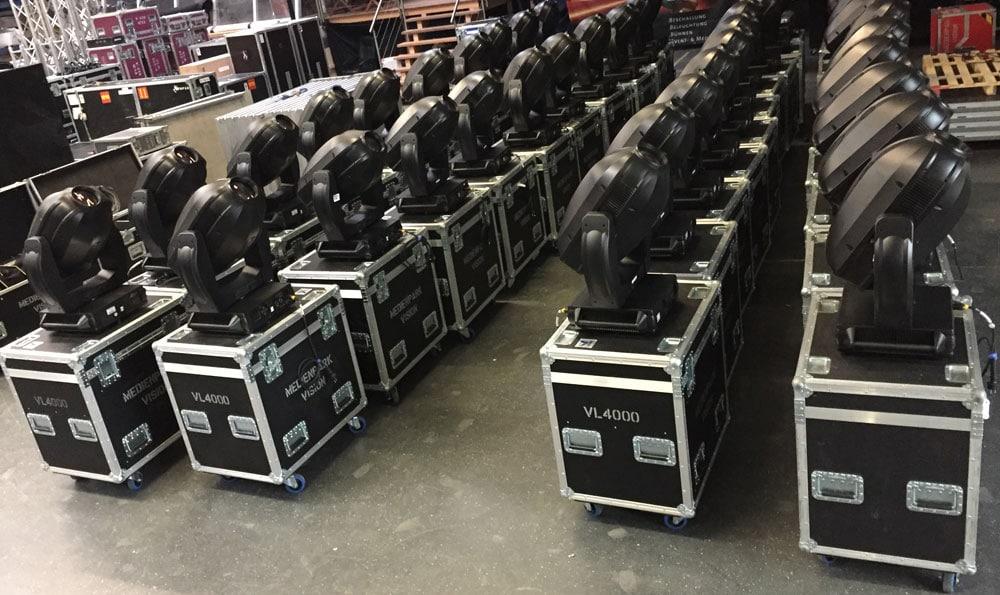 40 x Philips Vari Lite VL4000
