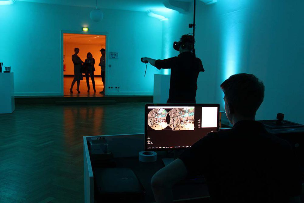 Virtual Reality im Curio Haus in Hamburg