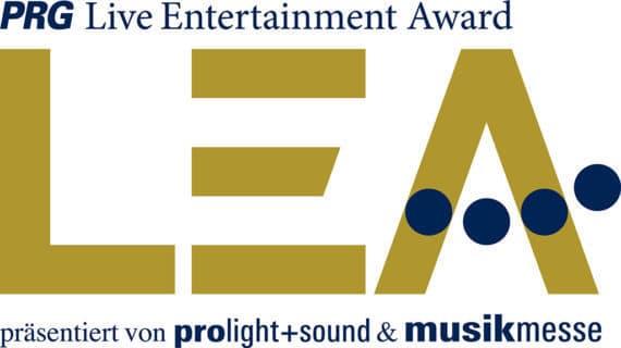 PRG LEA Live Entertainment Award Logo