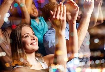 Menschen auf einem Event