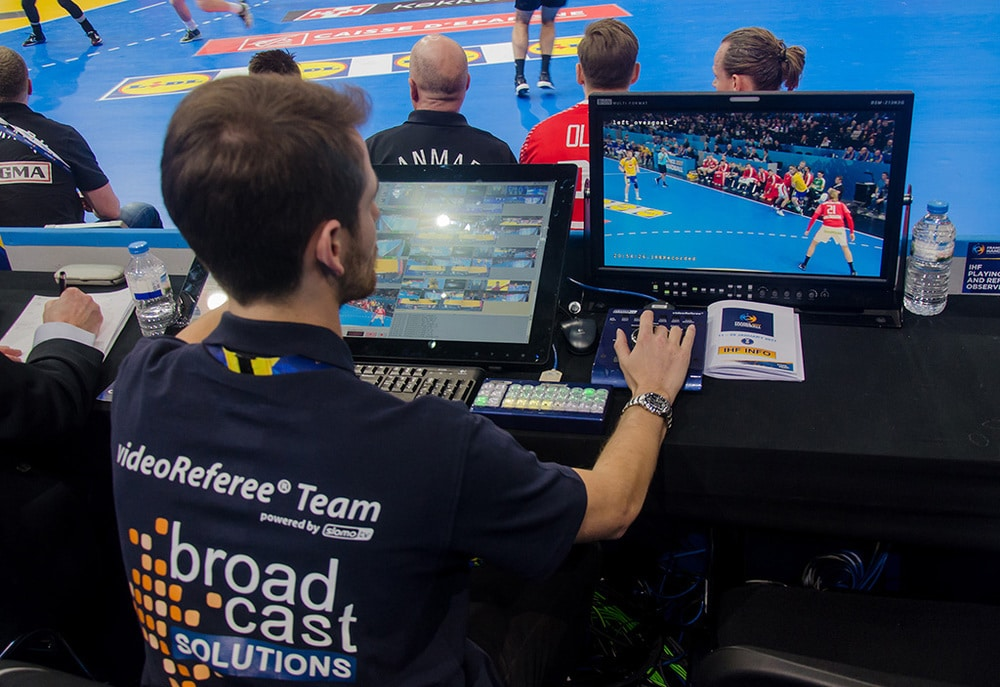 Video Referee at IHF Handball World Championships France 2017