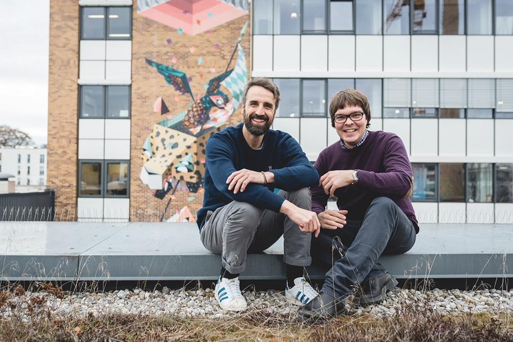 Florian Zibert und Tim A. Bohlen (v.l.n.r.)