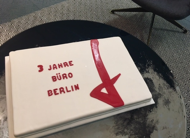 Follow Red in Berlin feiert 3-Jähriges