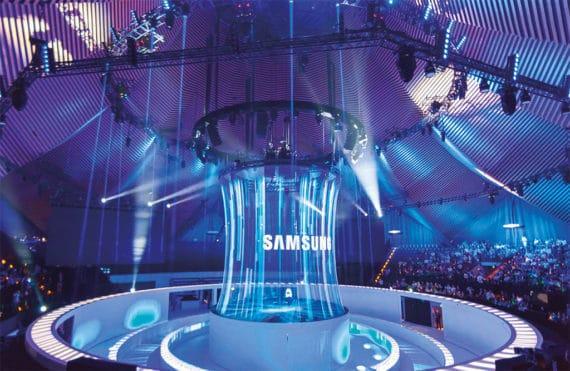 Holo-Gauze bei Smasung Gear S3 Präsentation