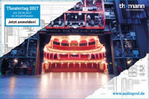 Theatertag bei Thomann am 27.4.2017