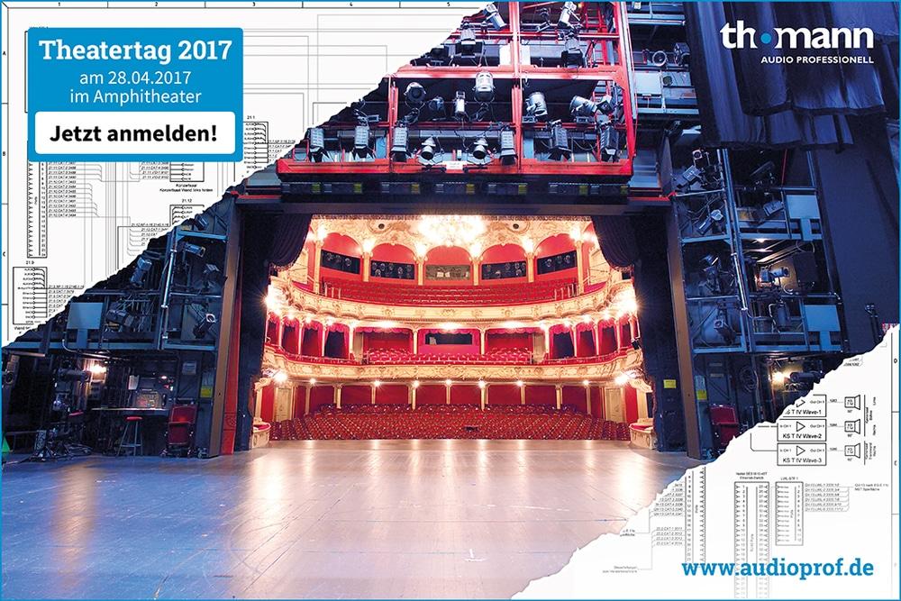 Theatertag bei Thomann am 27.4.2017