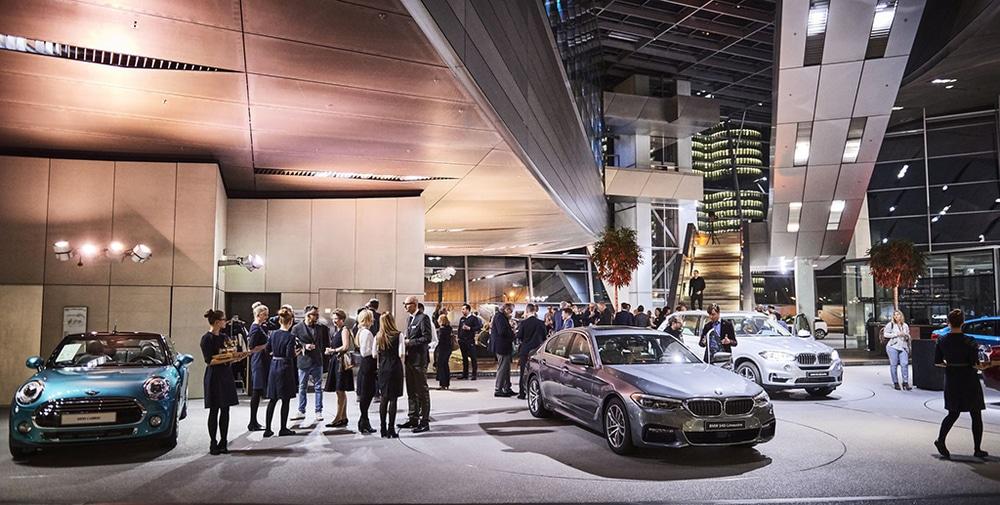 Premium Lounge der BMW Welt