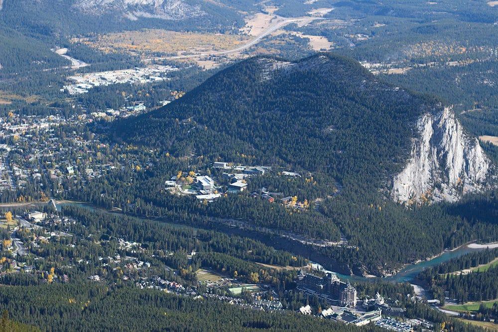 Banff Gondola Terminal in Kanada