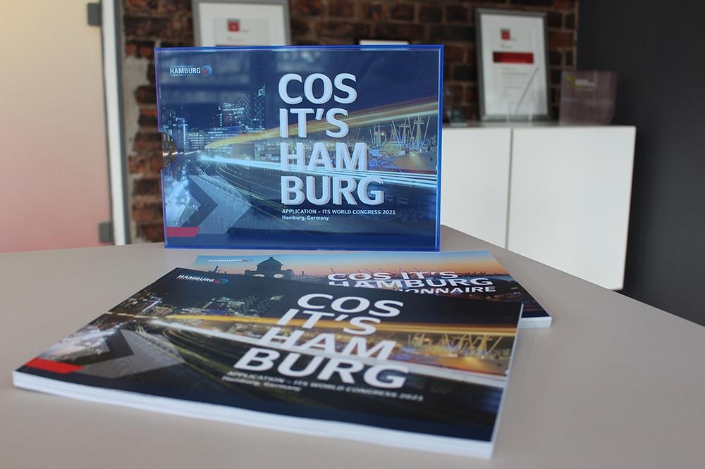 Bid Book von Kontrapunkt für Stadt Hamburg ITS Congress 2021