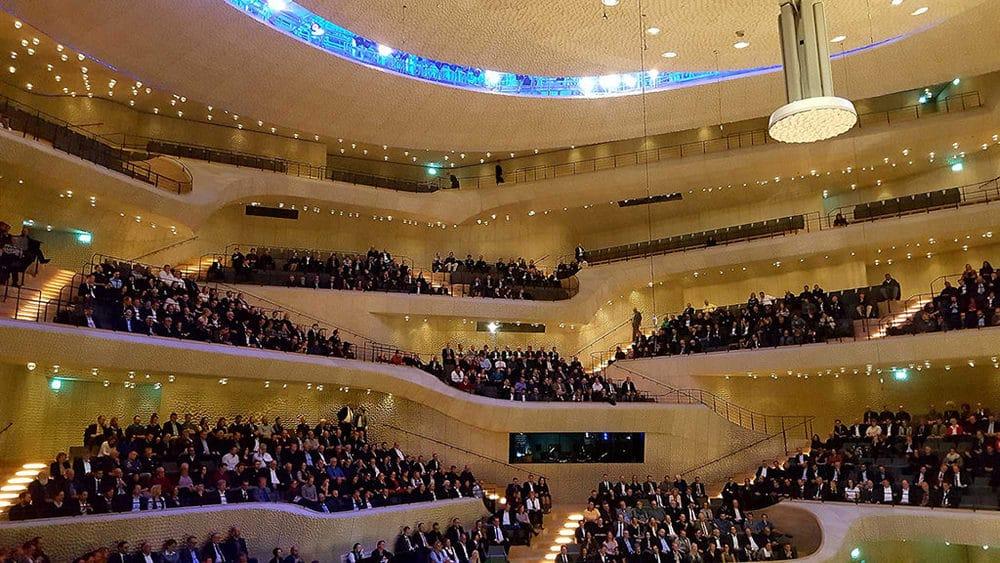 Der Große Saal in der Hamburger Elbphilharmonie