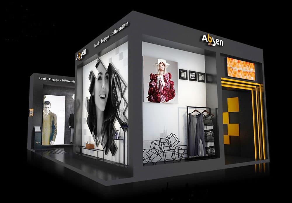 Europ Shop Booth von Absen