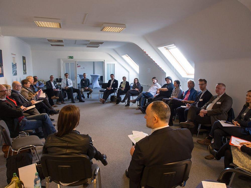 Gründungssitzung mit der ISDV
