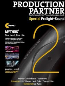 Production Partner Special zur Prolight + Sound 2017