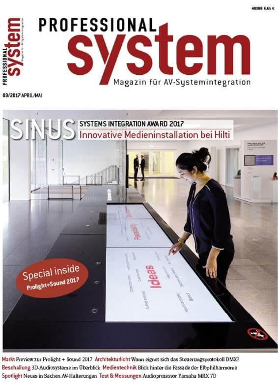 PROFESSIONAL SYSTEM 3|2017