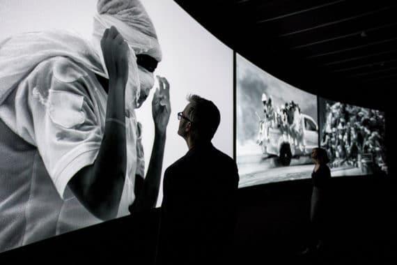 Ausstellung von Richard Mosse: Incoming