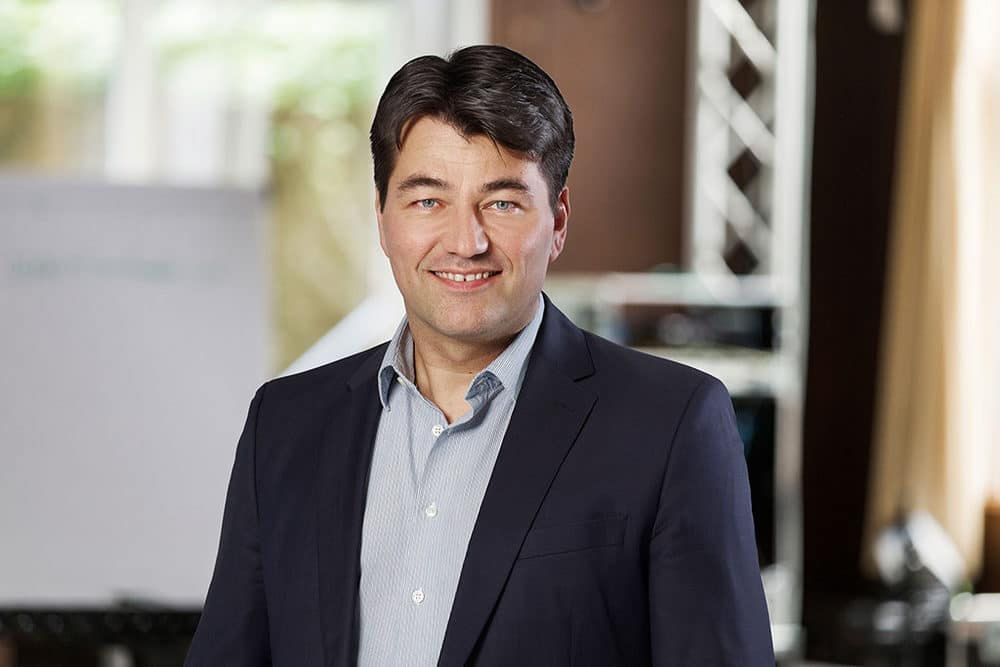 Der neue Chief Sales Officer bei d&b Audiotechnik: Stephan Greiner