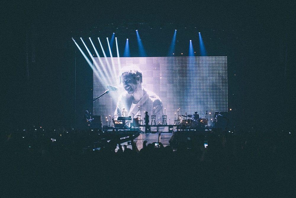 Der Backdrop-Screen P20 eignet sich ideal für Tourneen