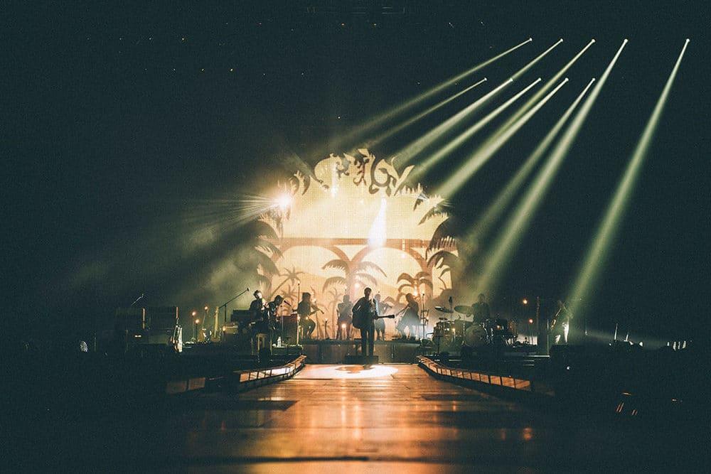 Die LED-Screens von Screen Visions waren für 13 Konzerte im Einsatz