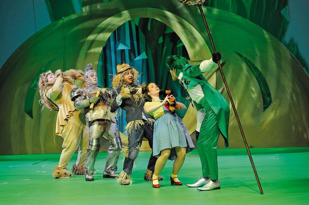 Der Zauberer von Oz im E.T.A-Hoffmann-Theater in Bamberg