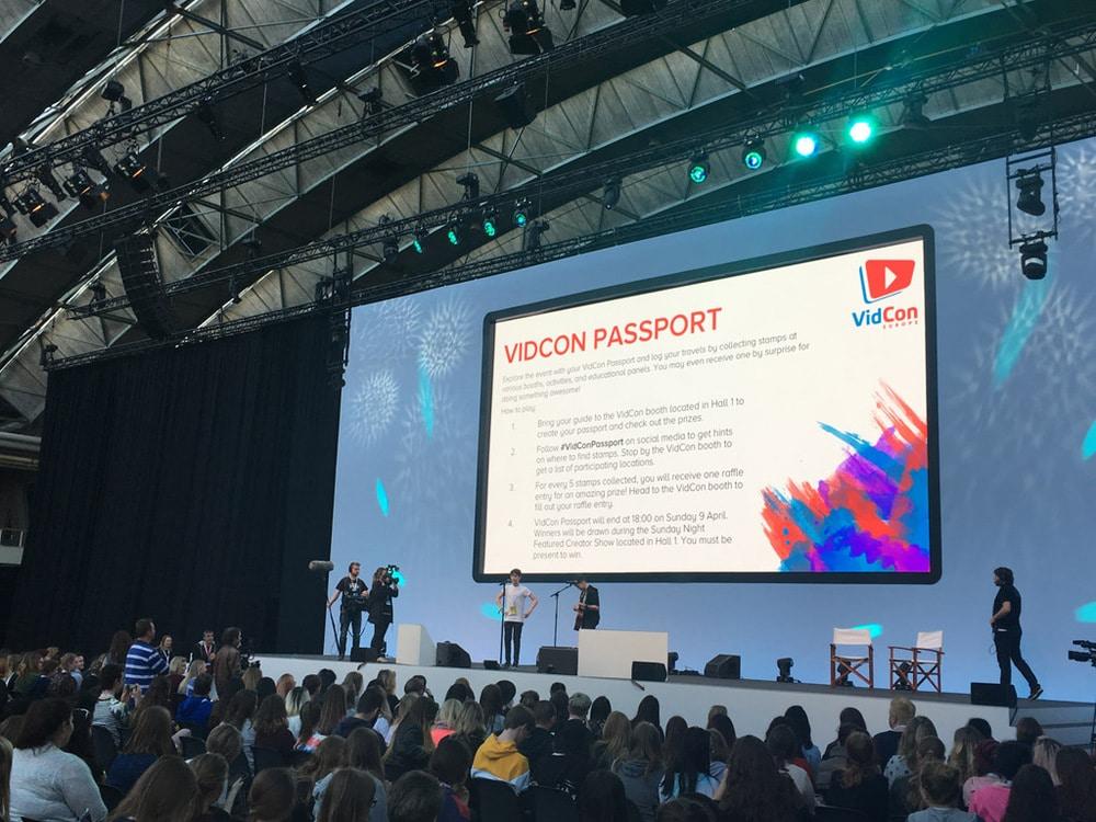 satis&fy ist technischer Dienstleister der Vidcon Amsterdam 2017