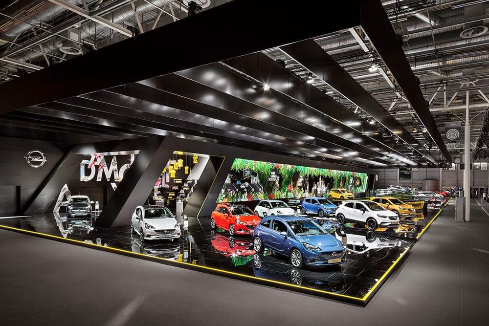 Opel auf der Paris Motor Show 2016