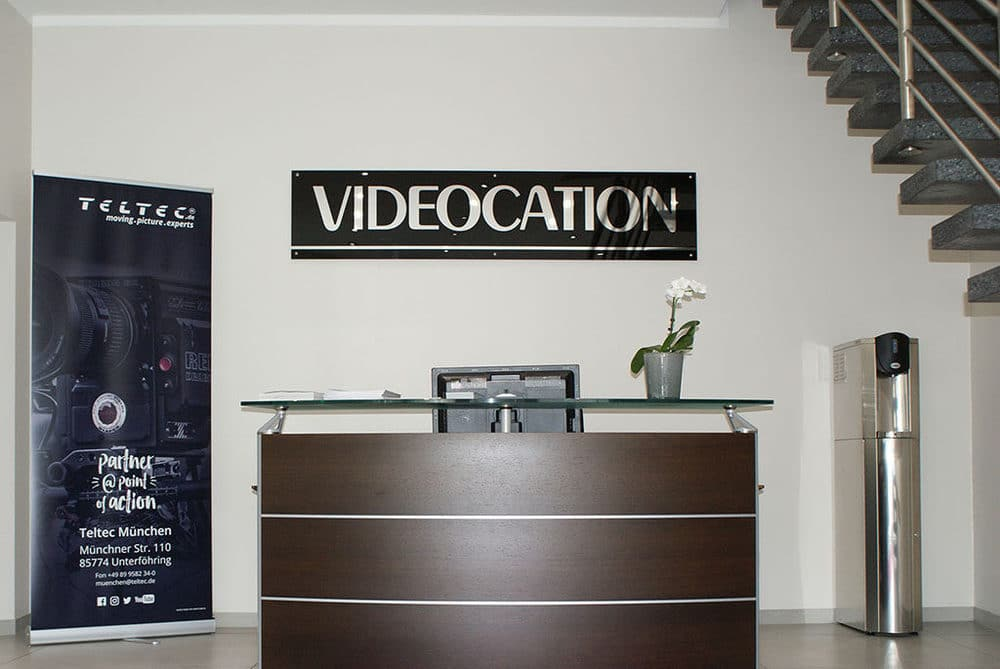 Videocation präsentiert den neuen Showroom der Teltec-Niederlassung München