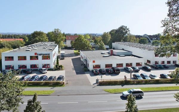 Lightpower Zentrale in Paderborn
