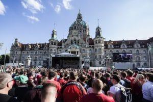 Aufstiegsfeier Hannover