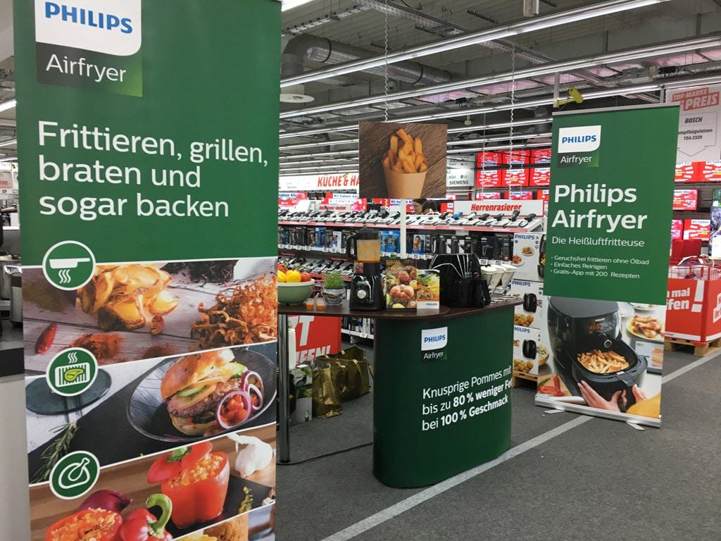 Airfryer Promotion für Philips von PP Live